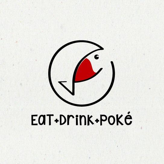 Eat Drink Poke logo