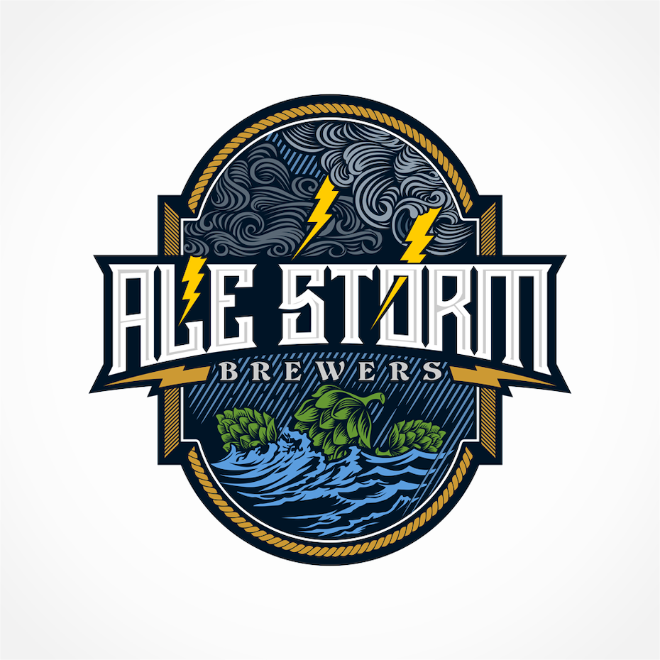 Ale Storm Brewers logo