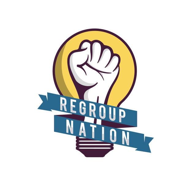 Regroup Nation logo