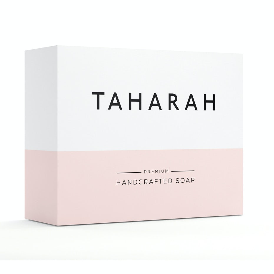 Taharah product packaging