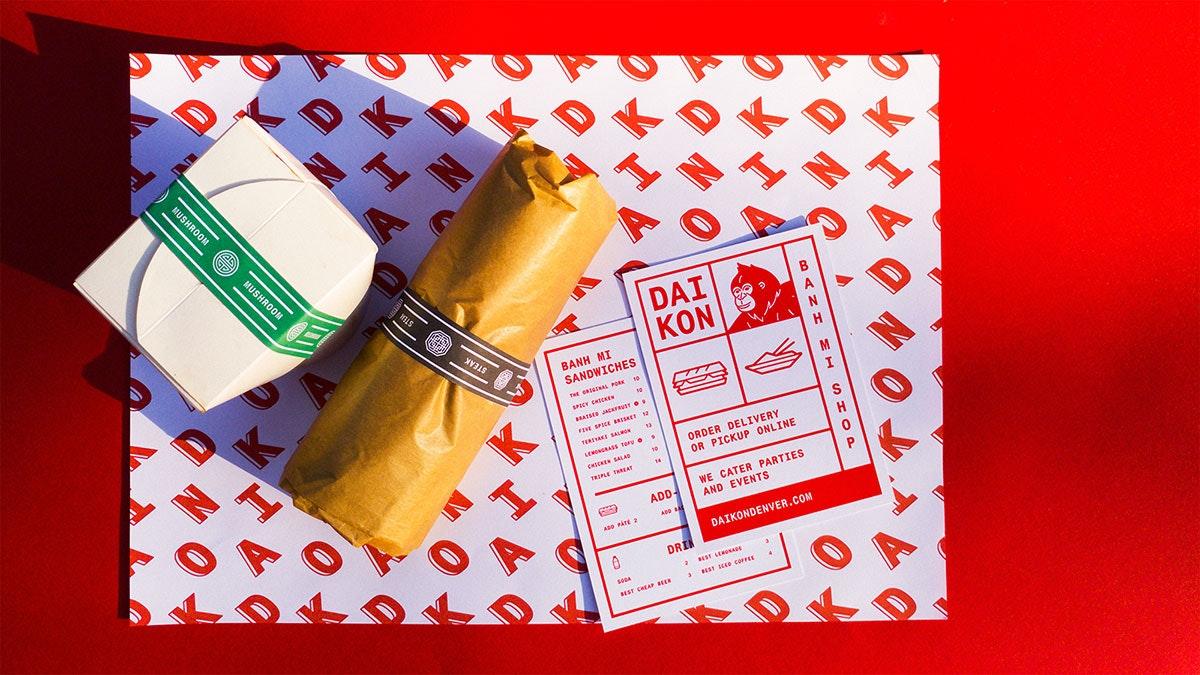 Daikon branding by kitasavi