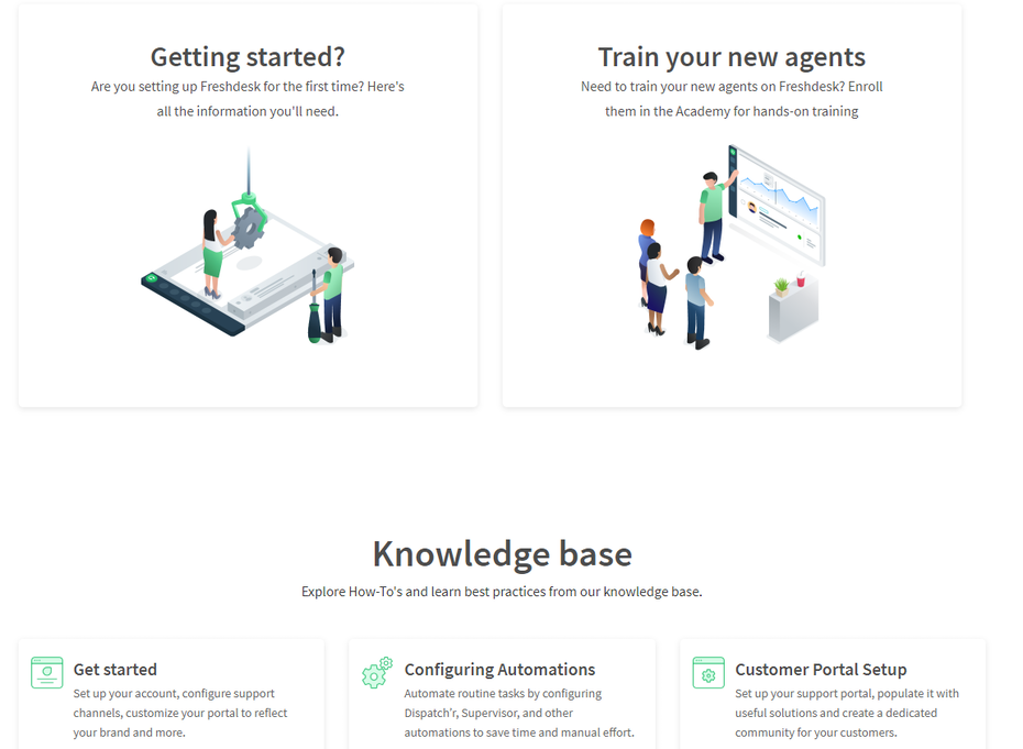 Knowledge base content examples