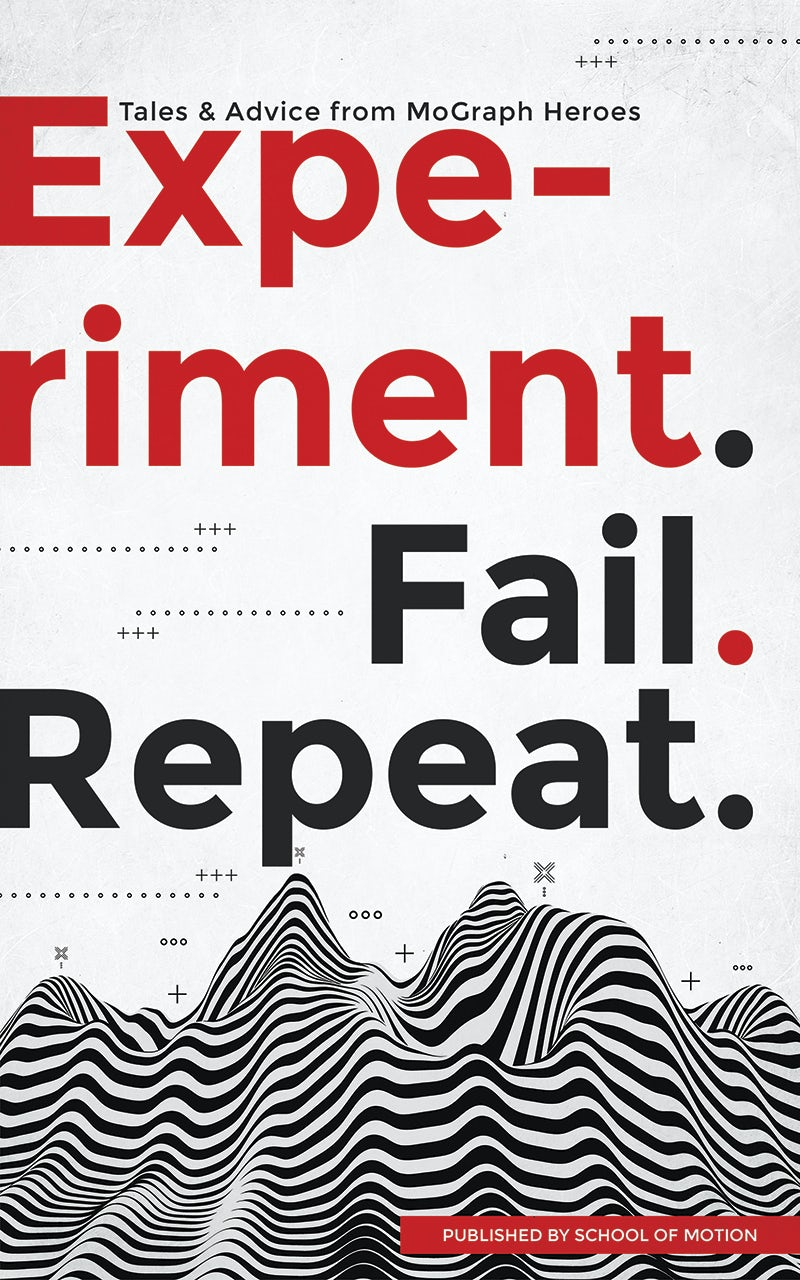 Experiment. Fail. Repeat. book cover