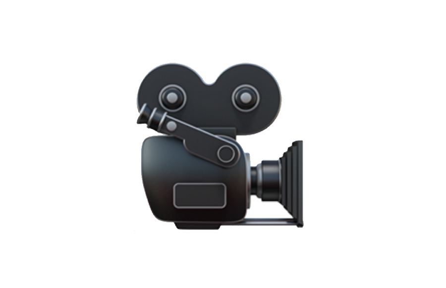 Video camera emoji