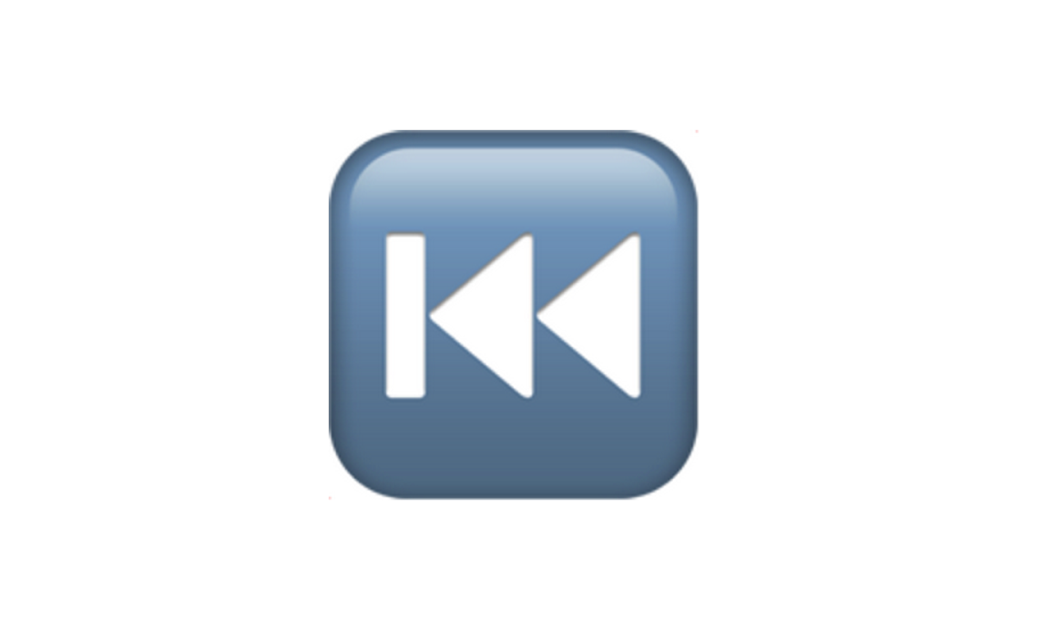 Rewind emoji