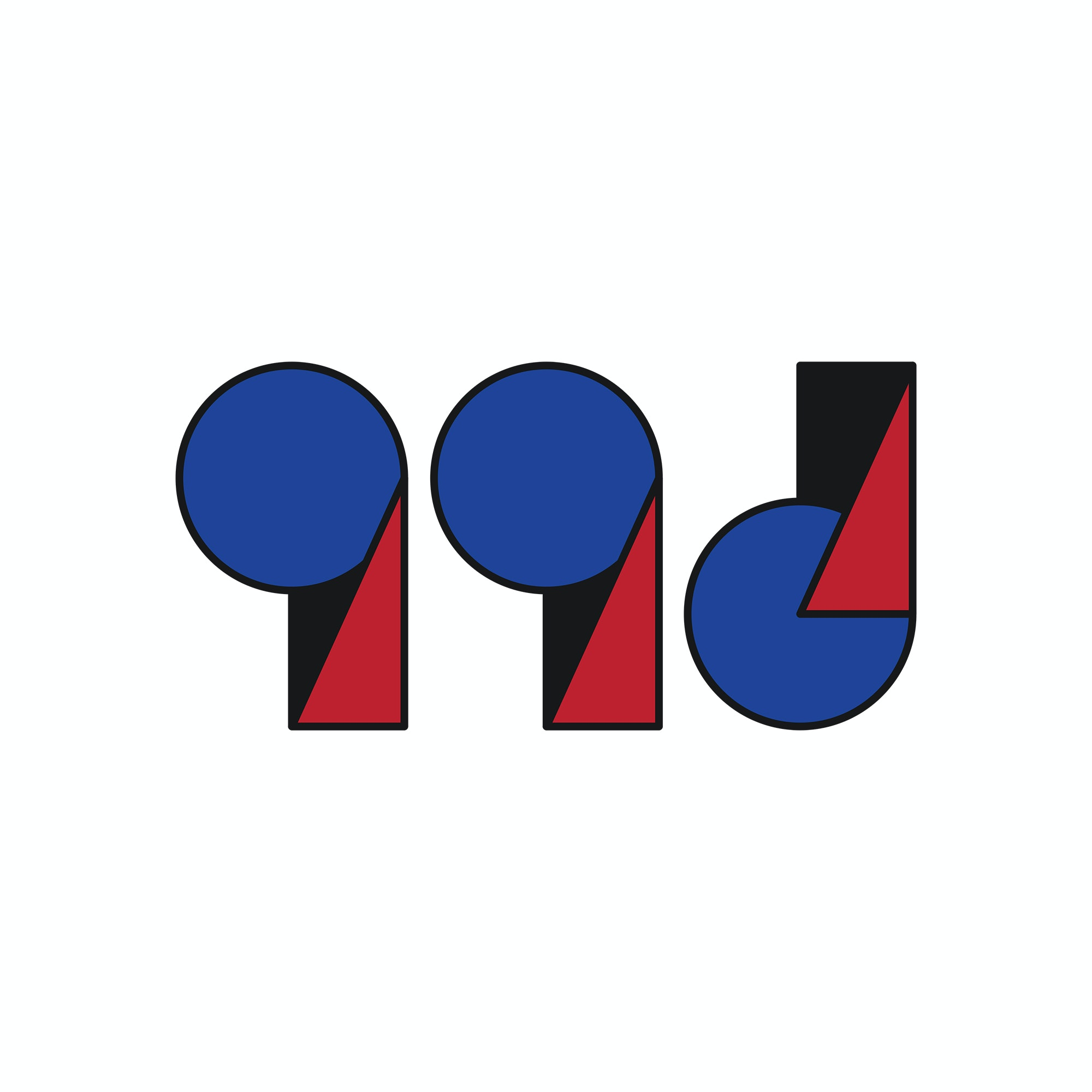 99designs logo in Bauhaus design style