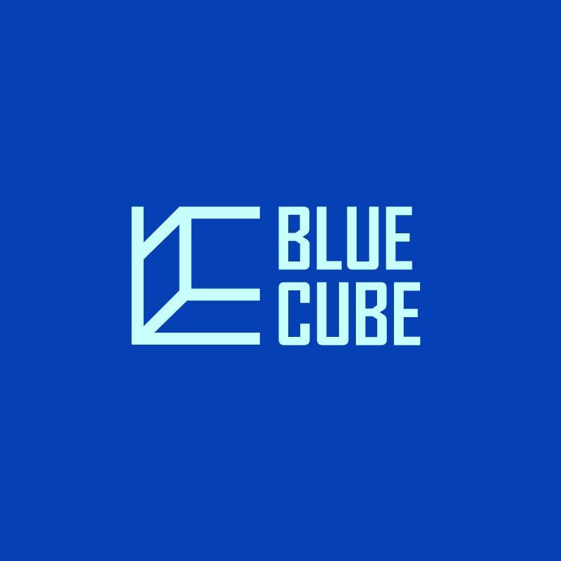 Blue Cube cubic logo