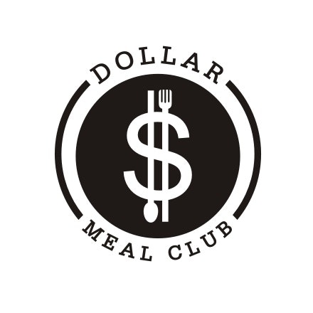 dollar logo with fork and spoon