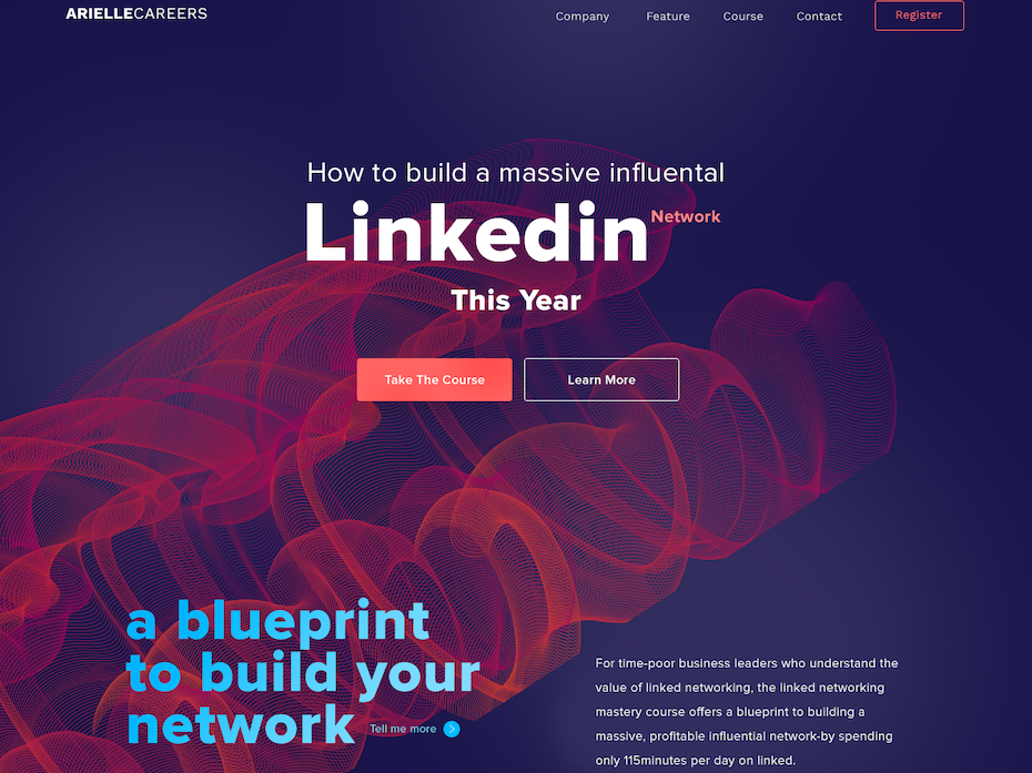 LinkedIn course web design