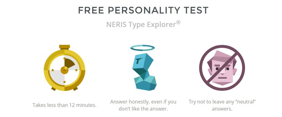 NERIS Type Personality Test