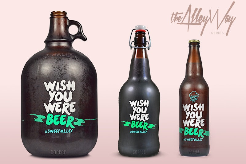 Cold Brew Coffee Bottles for Sweet Alley
