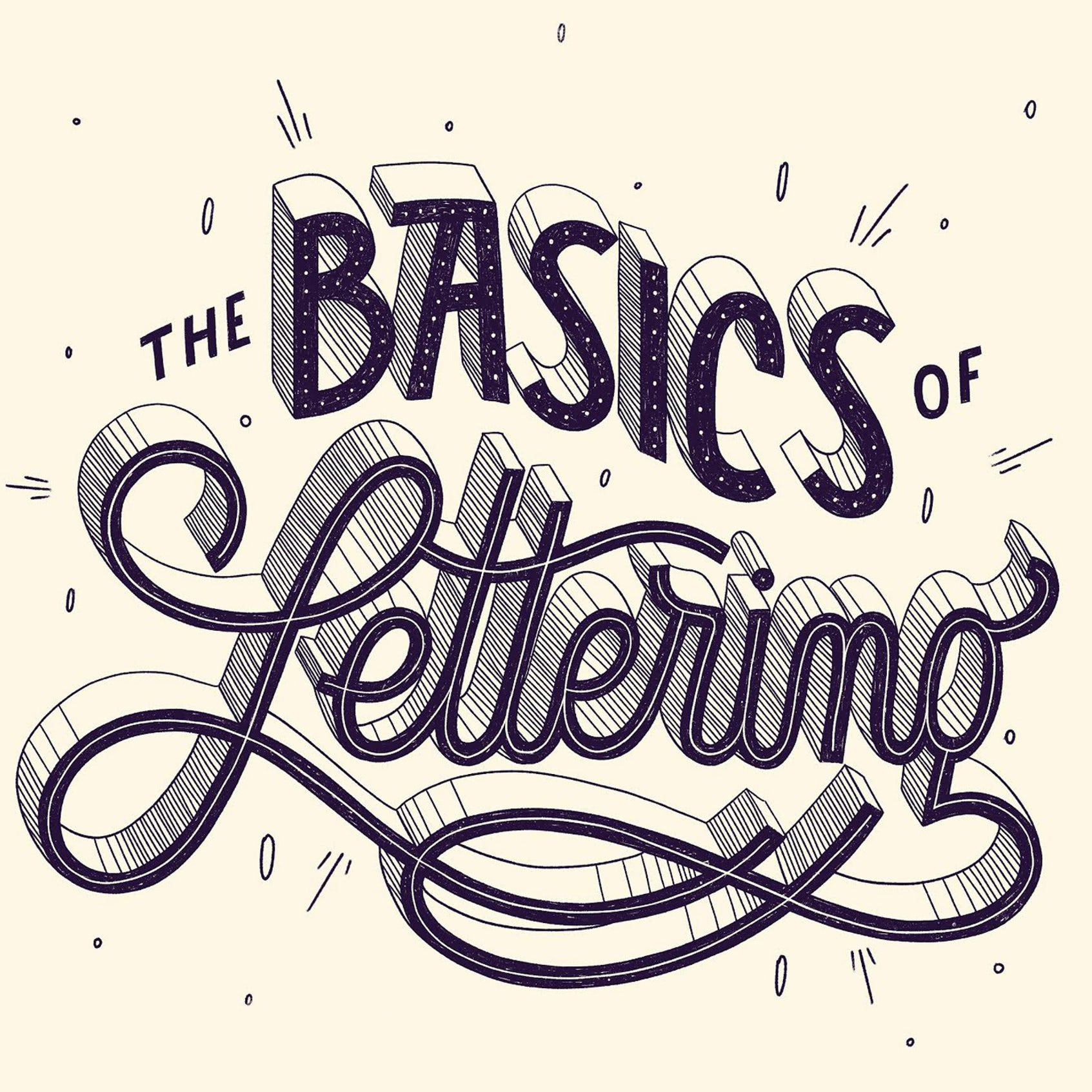 Hand lettering basics: a tutorial guide for beginners
