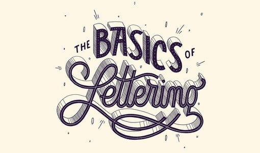 The basics of hand-lettering: a tutorial for beginners