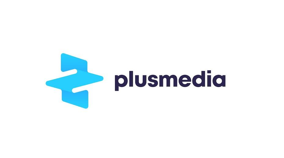 A glitch art logo design