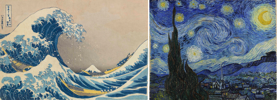 Japanese paintings and their influence
