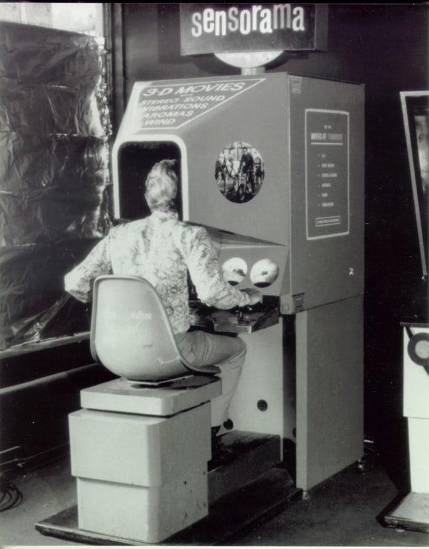 Sensorama VR design