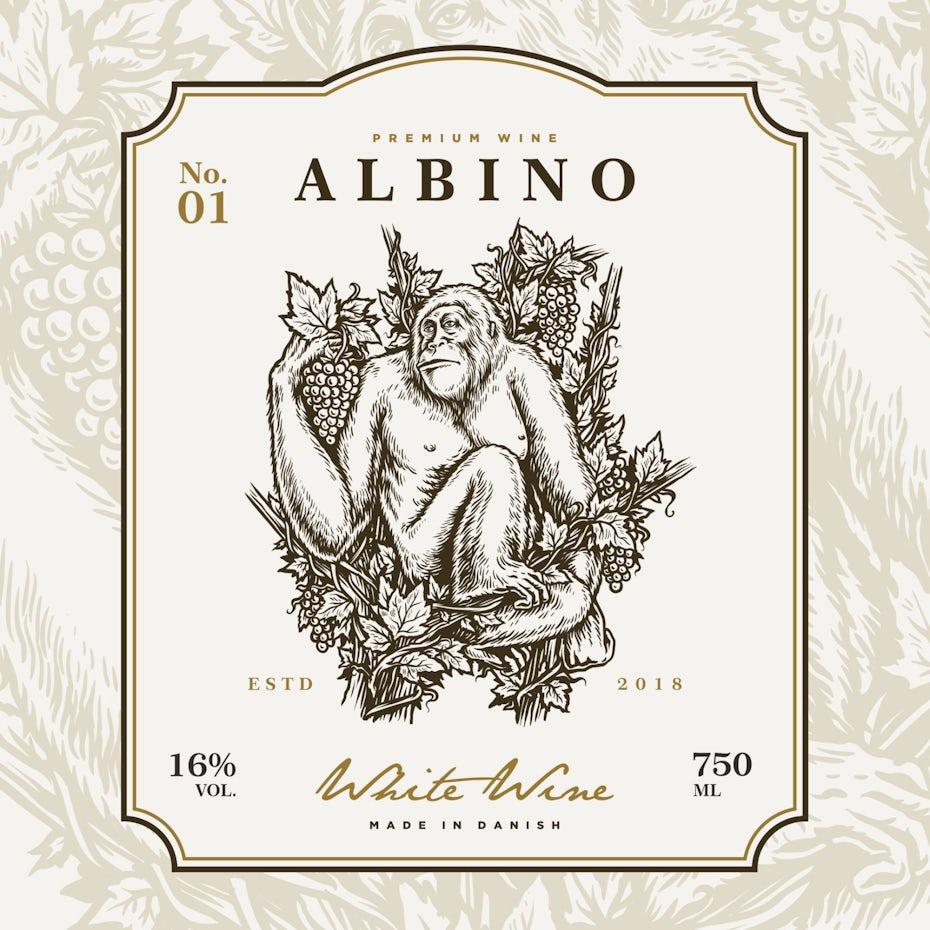 Albino Wine wine logo