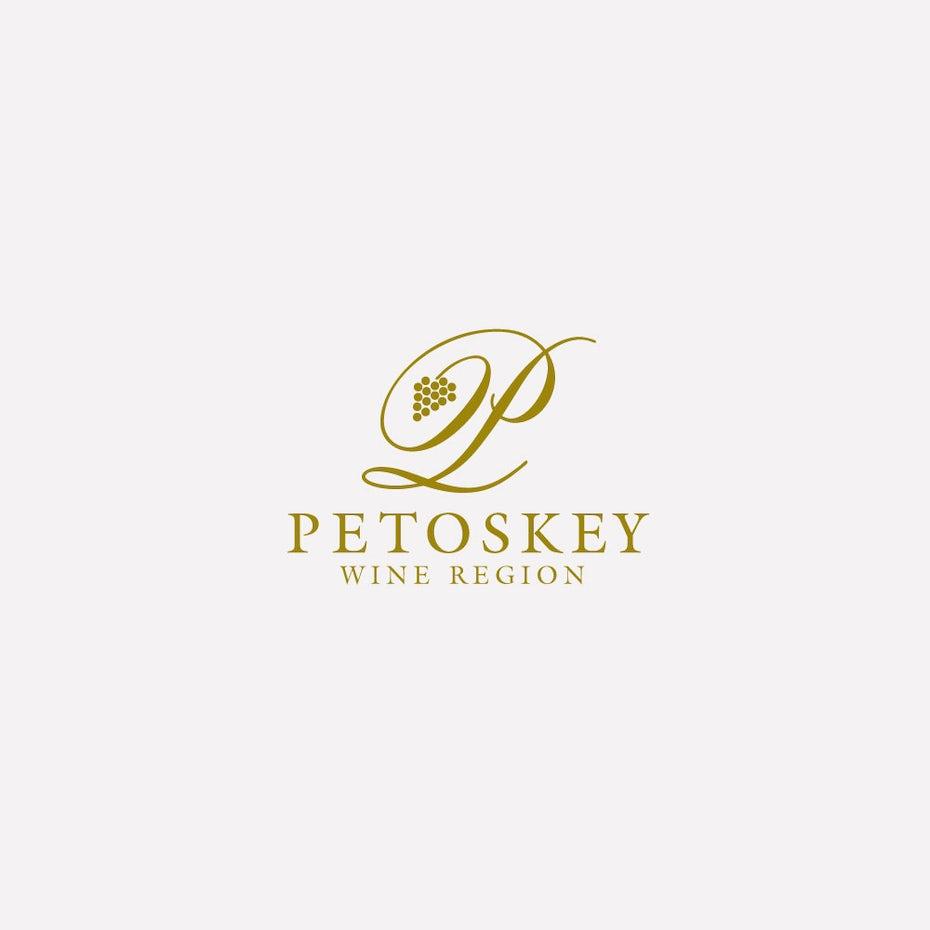 Petoskey wine logo