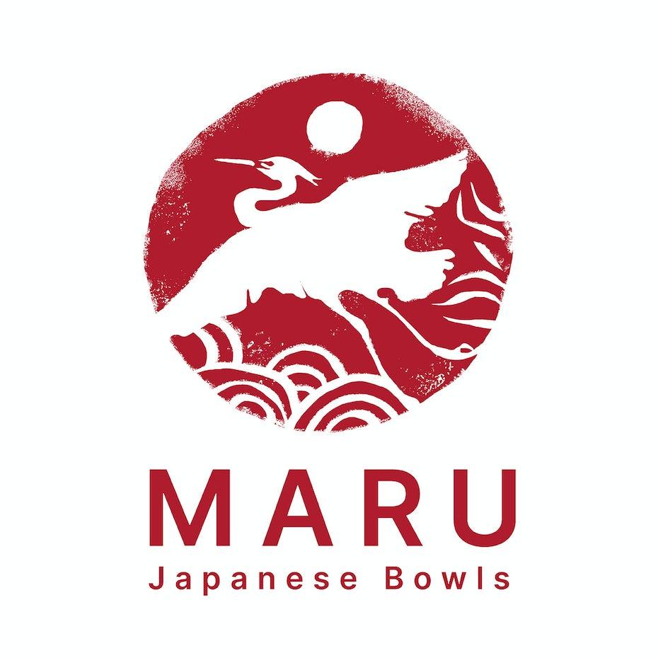 Maru Japanese Bowls logo