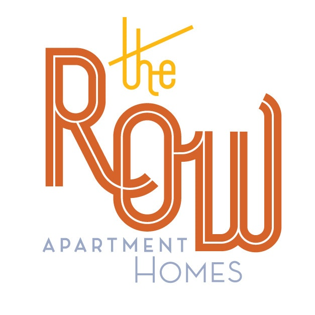 Logo design for The Row apartments