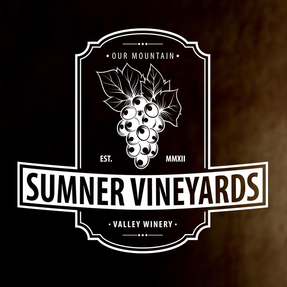 Sumner Vineyards wine logo