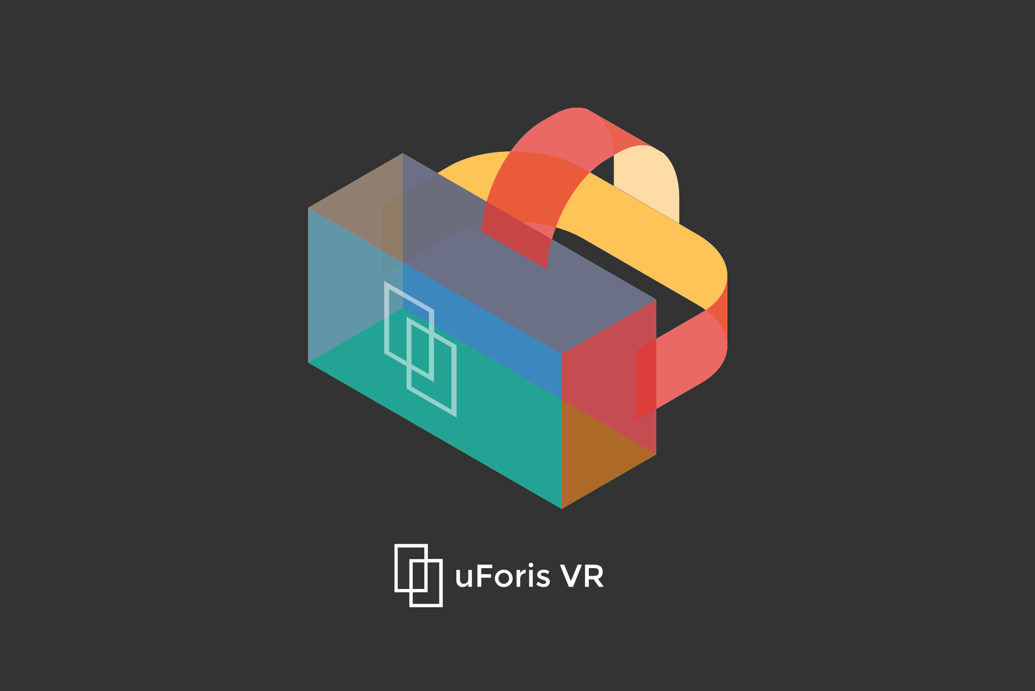 uForis VR logo design