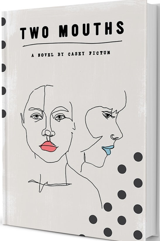 Book Cover Design for Two Mouths