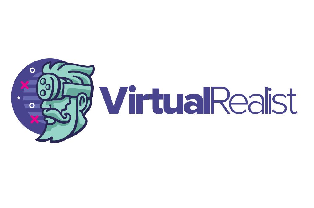 VirtualRealist logo design