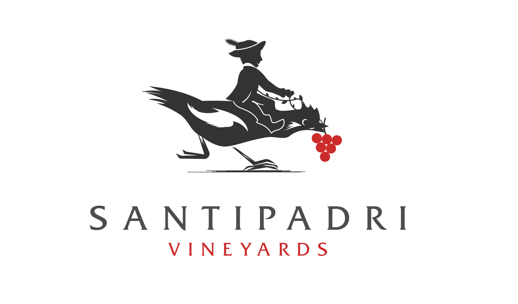 Santipadri Vineyards wine logo