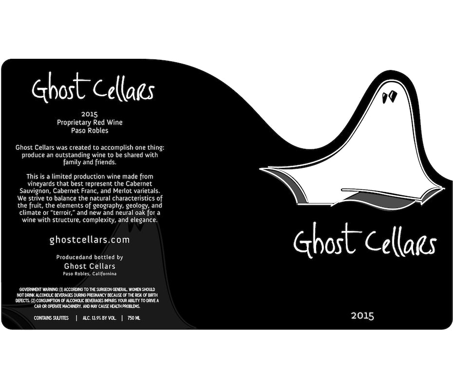 Ghost Cellars wine logo