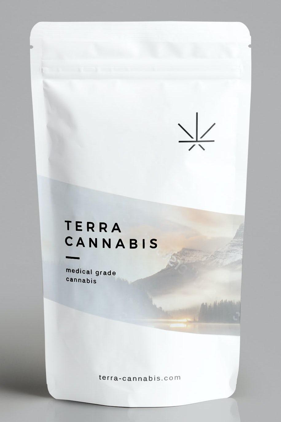 Japanese cannabis pouch design