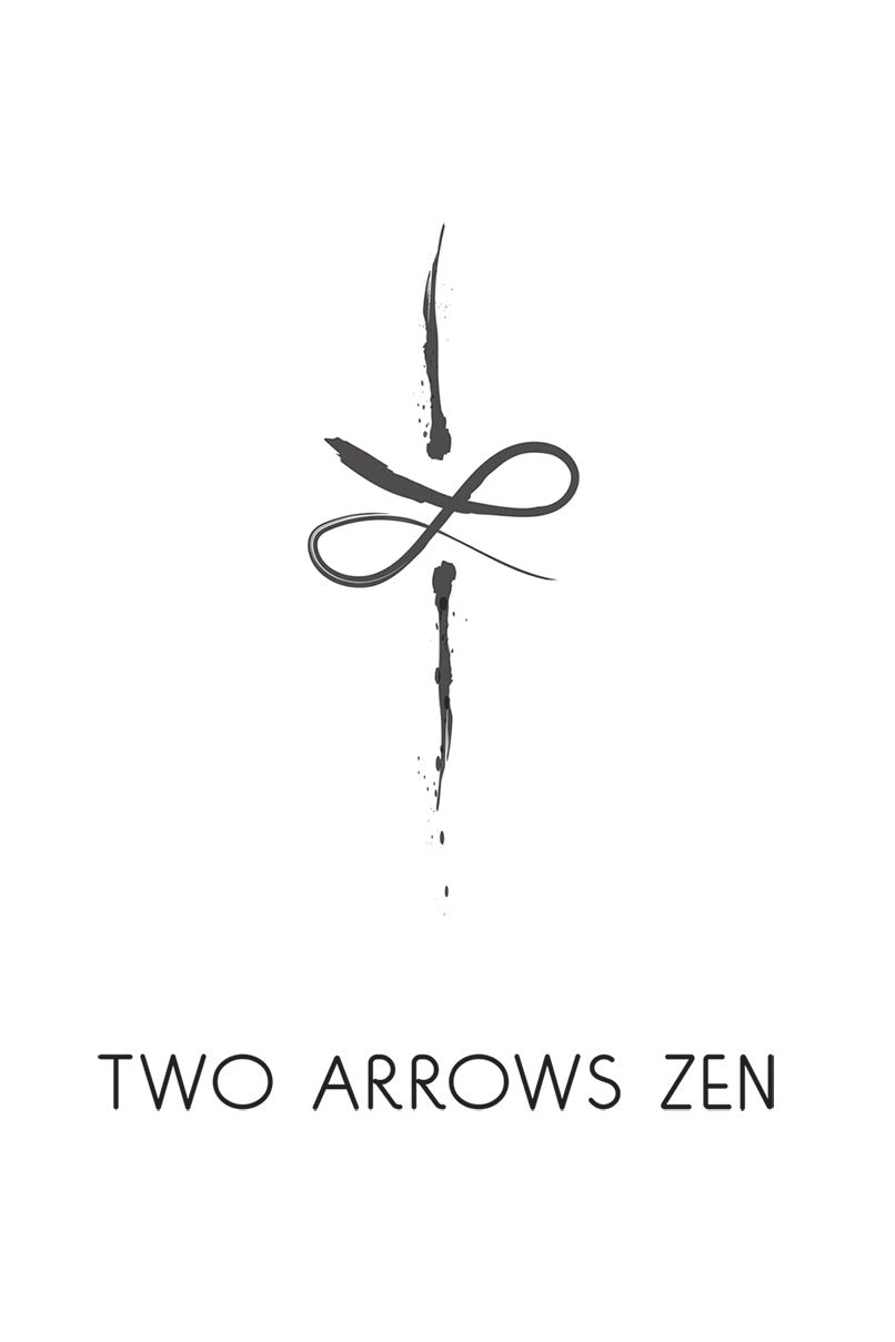 Two Arrows Zen Japanese Logo Design