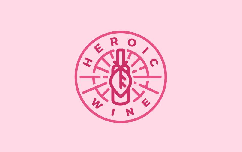 Heroic Wine logo