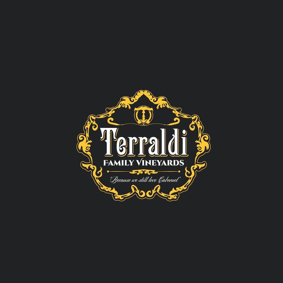 Terraldi wine logo