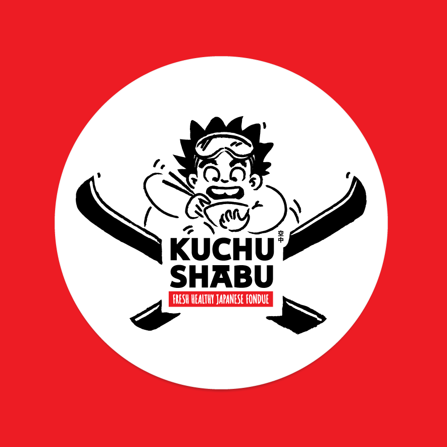 Shabu Shabu restaurant aerial skier Japanese manga theme