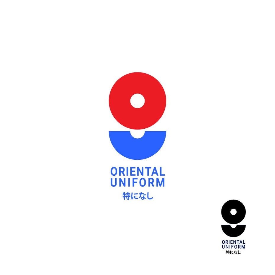 Oriental Uniform logo design