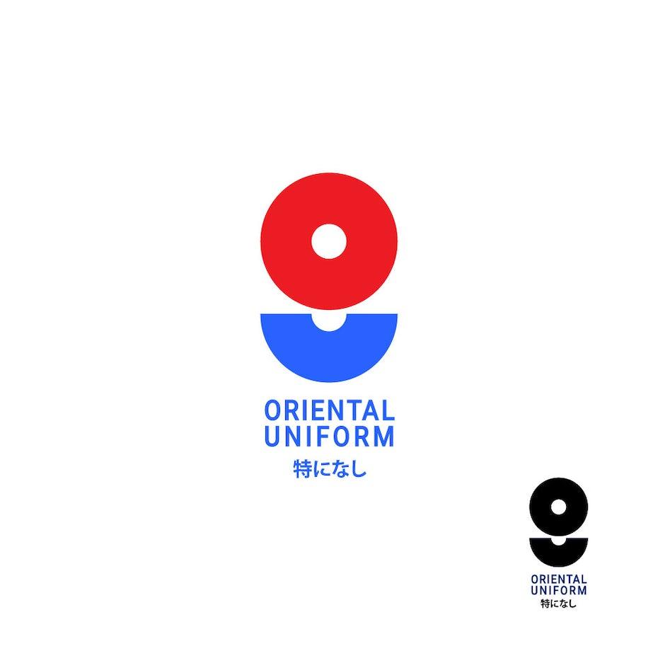 Oriental Uniform logo design