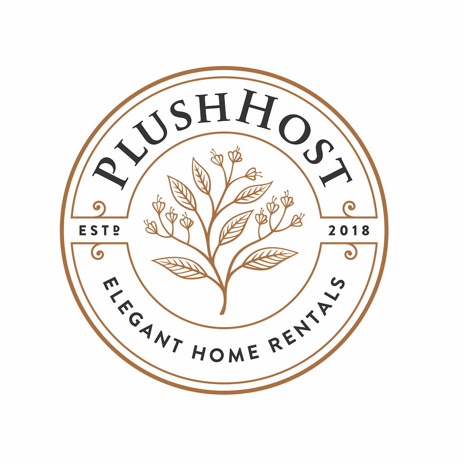 A straight-forward, yet subtly bold logo for an extended stay rental accommodation.