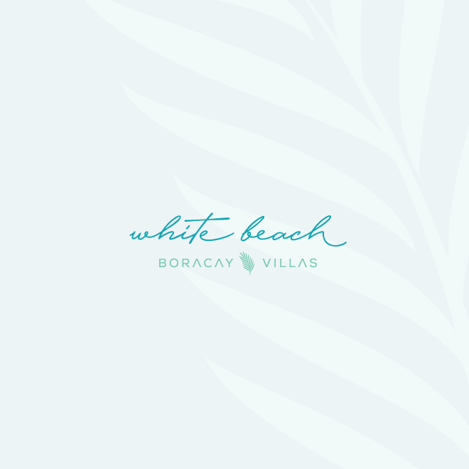 tropical elegant resort logo