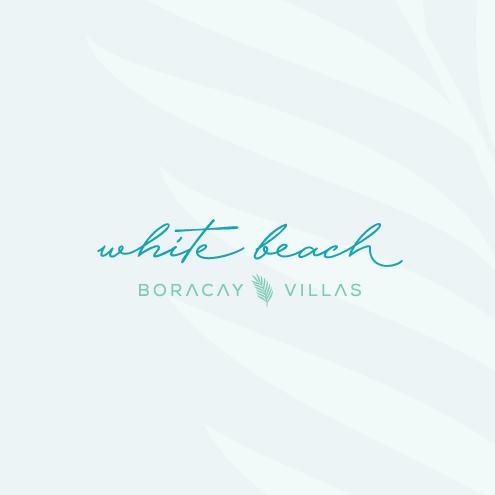 tropical elegant resort logo