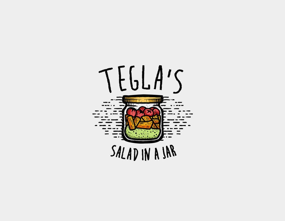 Logo pour Tegal's Salad in a Jar