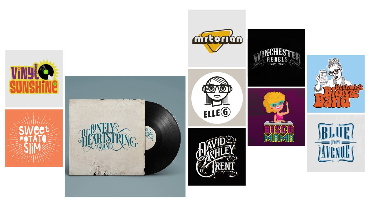 Inspiration for band logos that strike the right chord - 99designs
