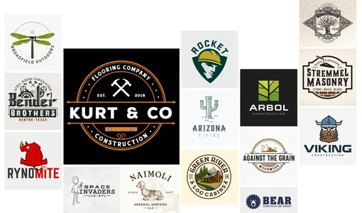 27 construction logo ideas that will help you build a better brand
