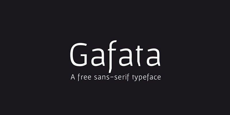 gafata logo font