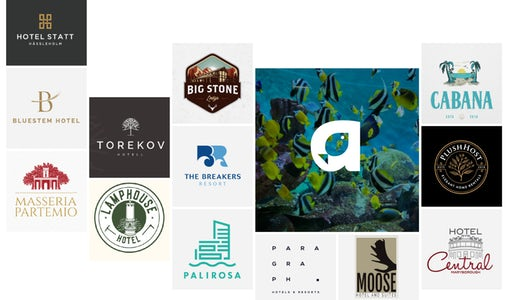 36 amazing hotel logos your guests will remember