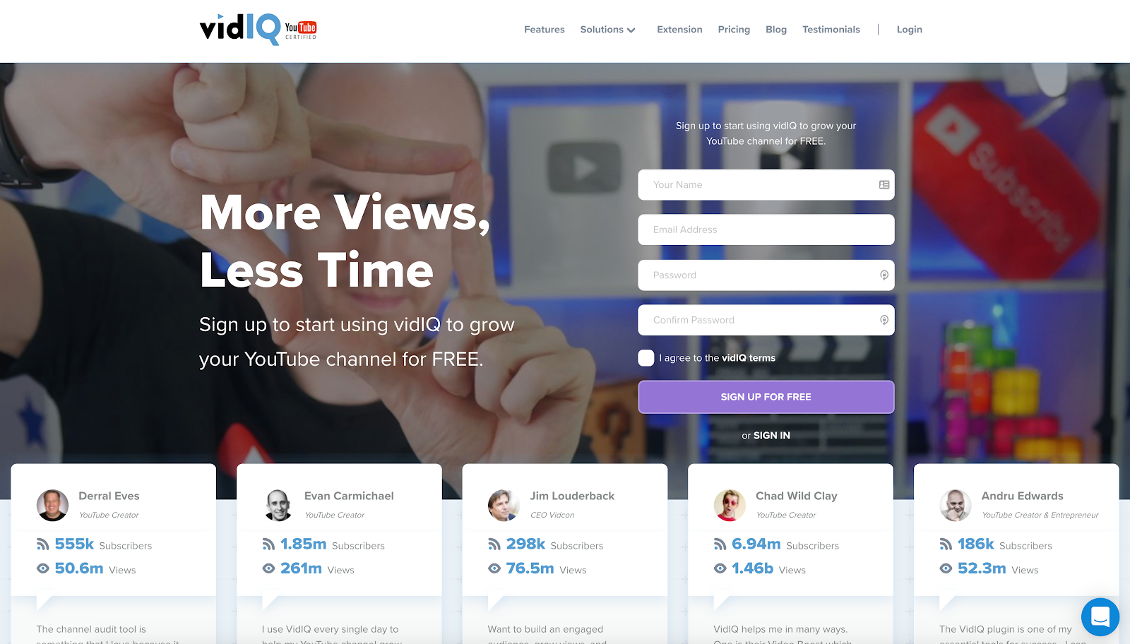 VidIQ is a fantastic plugin for topic discover and optimisation of videos