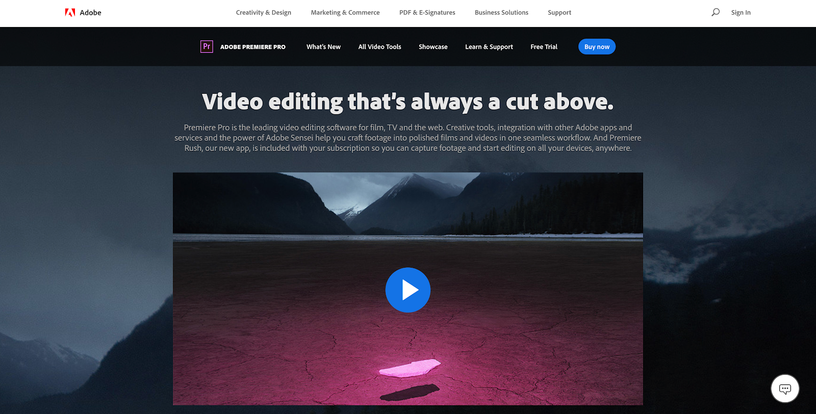 Adobe Premiere Pro is one of the best video editing programs in the business