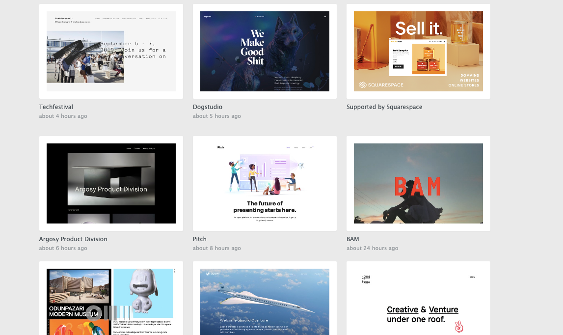 siteInspire homepage