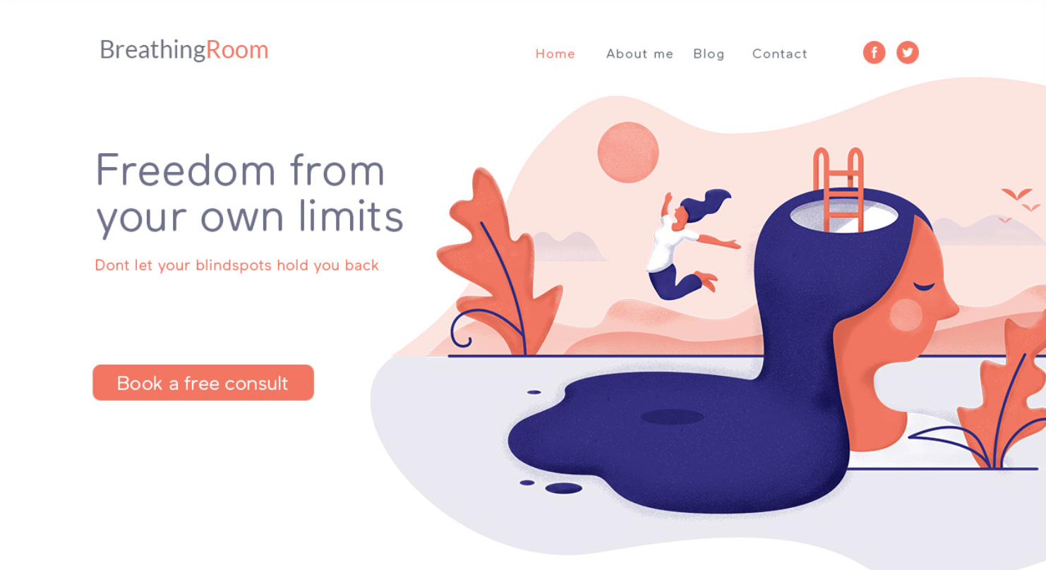 BreathingRoom web design