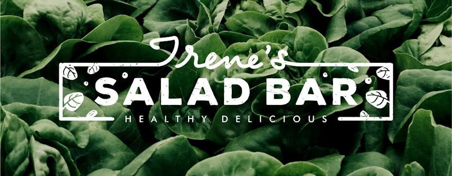 Logo pour un bar à salade